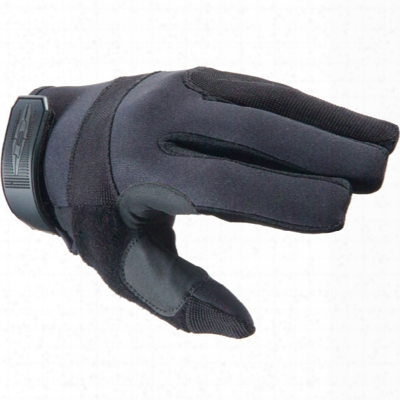 Damascus Dpg125 Patrol Guard Gloves, W/ Kevlar Palms, Black, 2x-large - Black - Male - Included