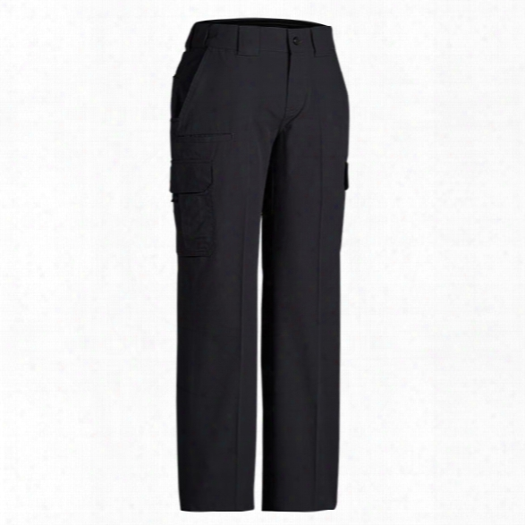 Dickies Womens Stretch Ripstop Tactical Pant, Black, 16 Unhemmed - Black - Female - Included