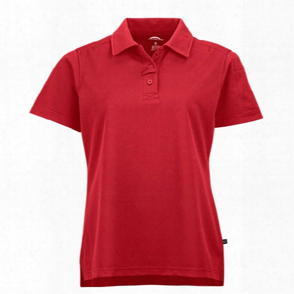Dickies Womens Tactical Polo, Red, Lg - Red - Female - Included
