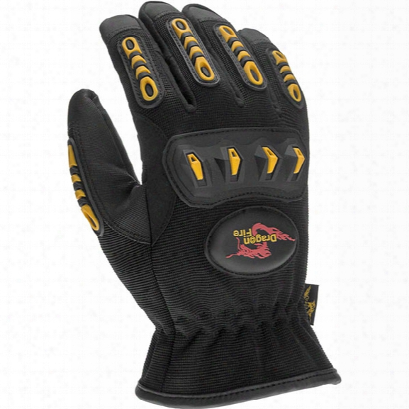 Dragon Fire First Due Rescue Glove, Large - Male - Include D