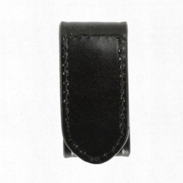 "Dutyman 2311 1-1/4"" Belt Keeper, Plain Black, Gold Snaps - Black - Unisex - Included"