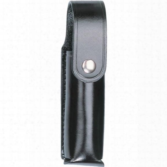 Dutyman 2611 4 Oz Mace Holder (mk4), Plain Black, Gold Snap - Black - Male - Included