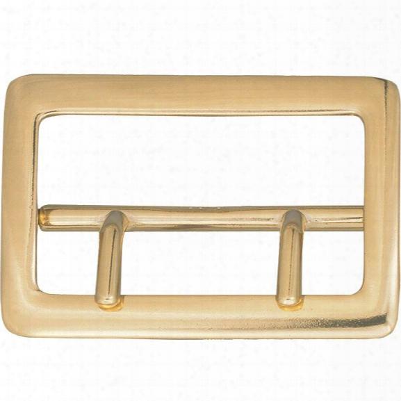 Dutyman 9001 Sam Brown Buckle, Nickel - Gold - Unisex - Included