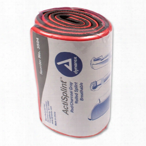 Dynarex Actisplint Rolled, 24in - Unisex - Included