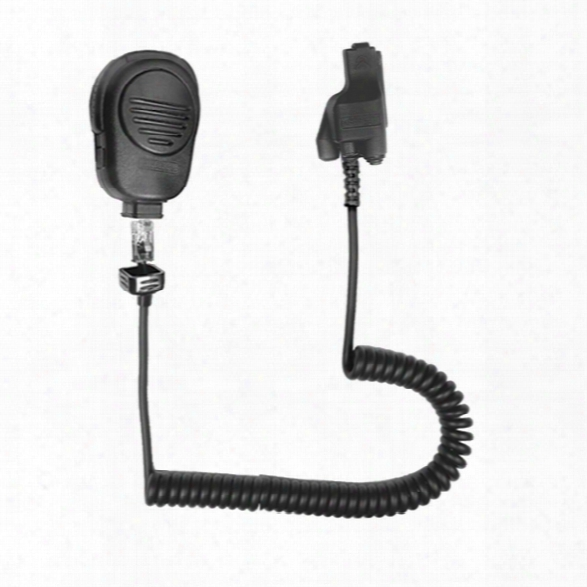 Earhugger Speaker Mic For Motorola - Cp/gp/ct Series - Black - Male - Included