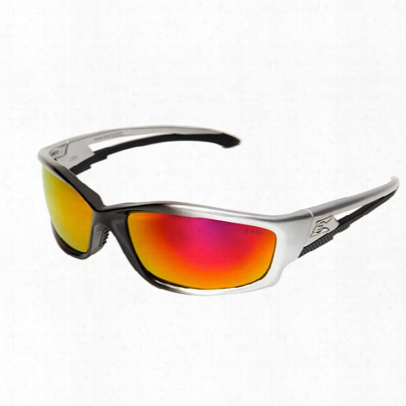 Edge Eyewear Azbek Safety Sunglasses W/ Black Frame And Smoke Len - Black - Unisex - Included