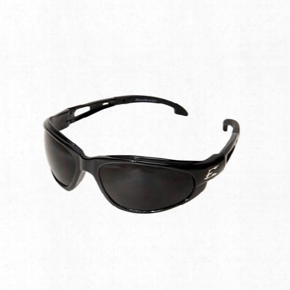 Edge Eyewear Dakura Safety Sunglasses W/ Black Frame And Clear Anti-fog Lens - Black - Unisex - Included