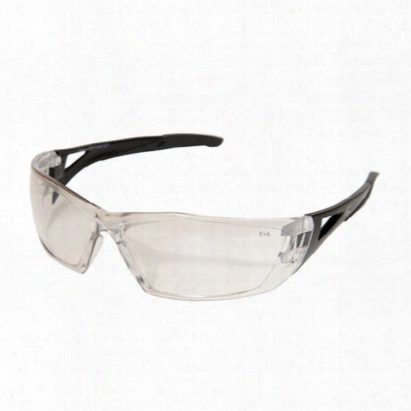 Edge Eyewear Delano G2 Anti-reflective Safety Glasses - Black - Unisex - Included