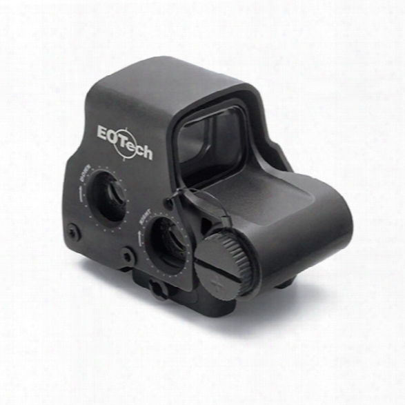 Eotech Exps2 Holographic Weapon Sight, Non-night Vision-compatible W/ Side Buttons, 65 Moa Ring W/ Single 1 Moa Dot, Lithium Battery - Male - Excluded