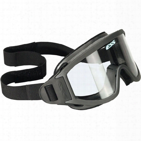 Ess Striketeam Xto Wildland Goggles W/ Face Padding, (2) Tear-off Lens Covers & Strap System, Ansi - (2) Tearoff Lens Covers & Strap System - Male - Included