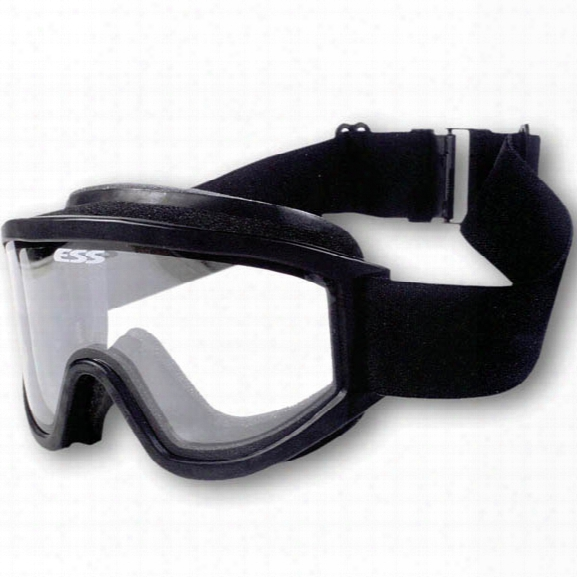 Ess Xt Tactical Goggles, Black - Black - Male - Included