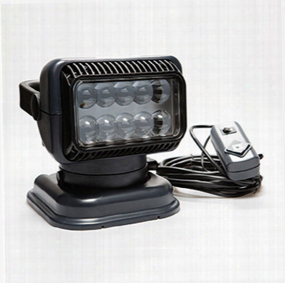 Golight ® Led Searchlight W/ Handheld Wired Remote, Charcoal - Red - Unisex - Included