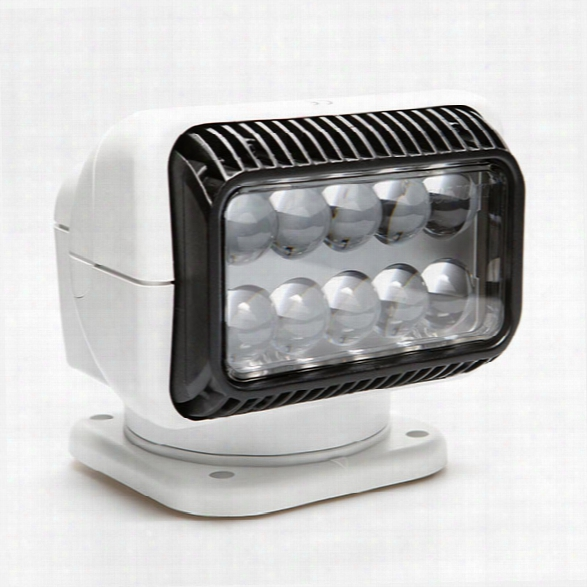 Golight Golight® Led Searchlight W/ Hardwired Dash Mount Remote, White - White - Unisex - Included