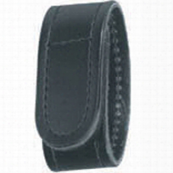 Gould & Goodrich 142 Belt Keeper, Plain Black, Hook And Loop - Black - Unisex - Included