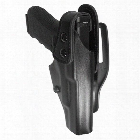 Gould & Goodrich 338 Adjustable Tension Duty Holster, Plain Black, Rh, Fits Glock 17, 22, 31 - Black - Unisex - Included