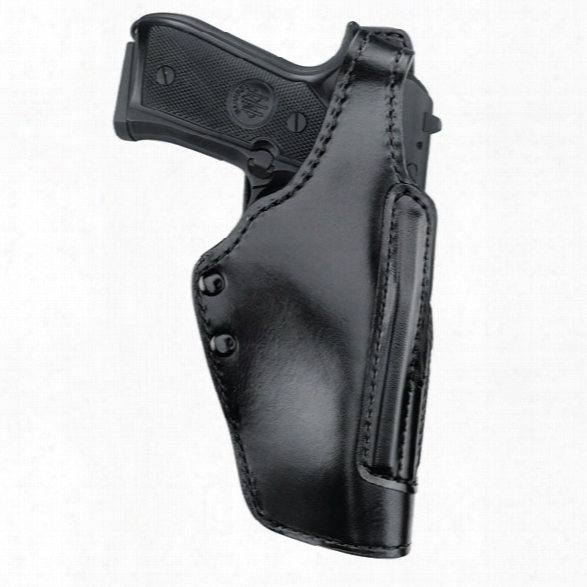 Gould & Goodrich 720a Astro Double Retention Holster, Plain Black, Rh, Fits Beretta 92, 92d, 92f, 92fs, 92g, 96, 96d, 96s, 96g, 96fs - Black - Unisex - Included