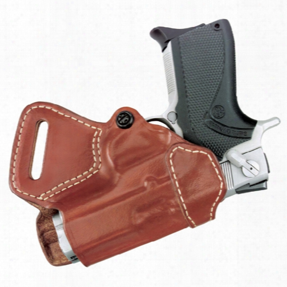 Gould & Goodrich 806 Small Of Back Holster, Chestnut Brown, Rh, Fits Sig P220r, P225, P226, P226dak, P228, P229, P229r, P229dak, S&w M&p 9mm, .40, .35 - Brown -