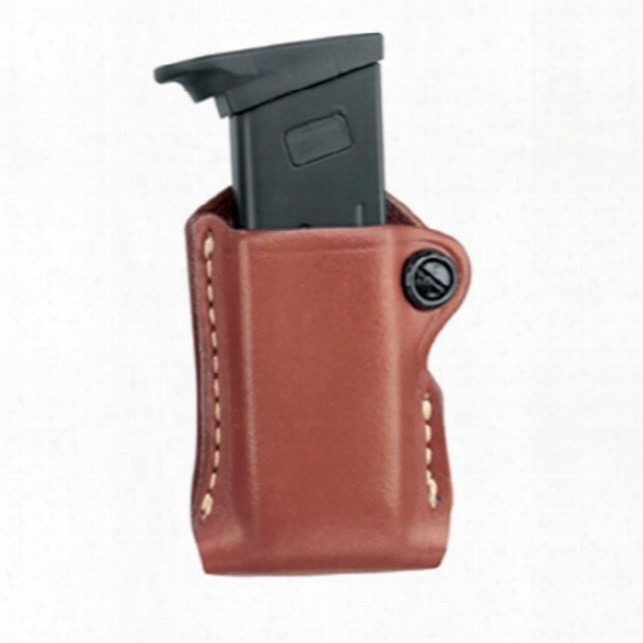 Gould & Goodrich 830 Mag Pouch, Chestnut Brown, Fits H&k P2000, P2000sk, S&w M&p 9mm, .357, .40 - Brown - Unisex - Included