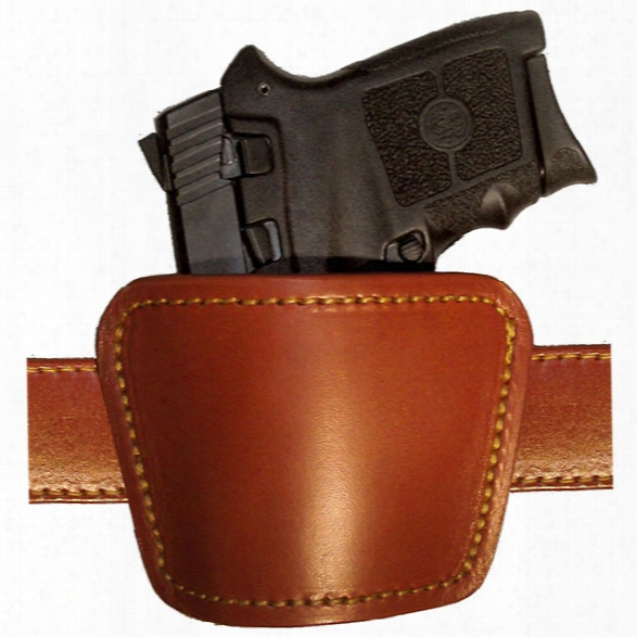 Gould & Goodrich 892 Ambidextrous Concealment Holster, Chestnut Brown, Fits Most Small Frame Auto Pistols - Brown - Male - Included
