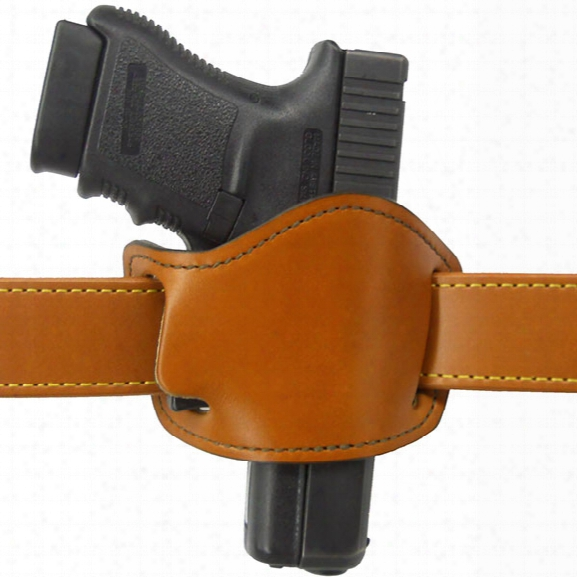 Gould & Goodrich 893 Low Profile Belt Slide Holster, Chestnut Brown, Rh, Fits Most 1911 And 1911 Clones 3, 4, 5 Bbl.; And Most Small Frame Auto Pistol - Brown -