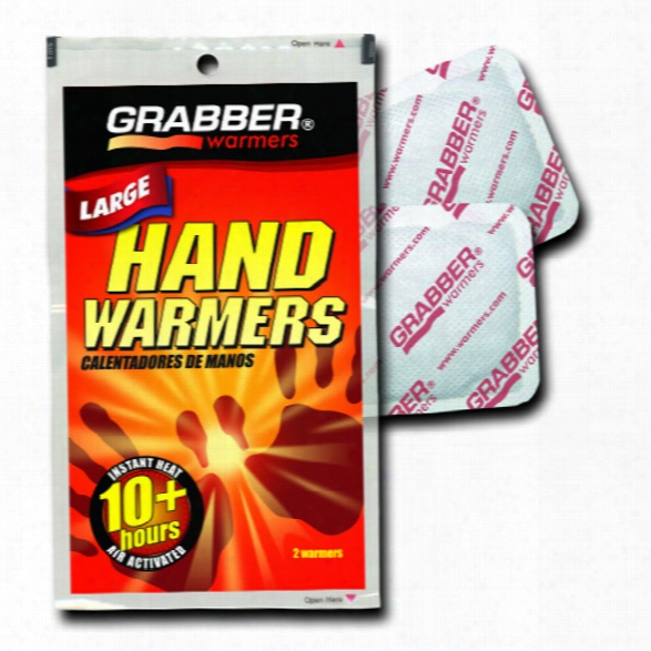 Grabber (1pk) Pair Hand Warmers - Male - Included