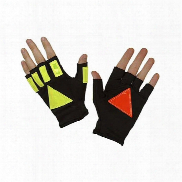 Hatch Dnr100 Daynite Reflective Glove, Black, Large/x-large - Black - Unisex - Included