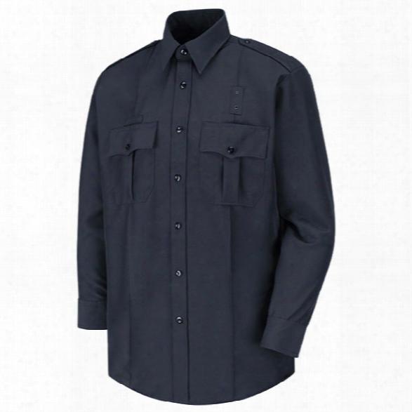 Horace Small Sentry Action Option Ls Shirt, Dark Navy, 14.5 Collar, 32 Sleeve Lengh - Blue - Female - Included