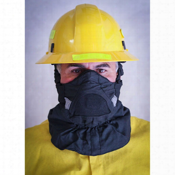 Hot Shield Hs-2 Wildland Face Protector Mask - Carbon - Male - Included