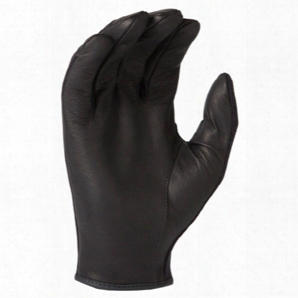Hwi Tactical & What One Ought To Do Design Dld Dyneema Lined Spandex And Leather Duty Glove, Black, 2x-large - Black - Unisex - Included