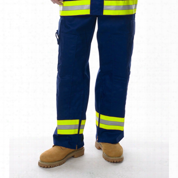 Lakeland Extrication Pant, 9oz 100% Fr Cotton With L/s/l Reflective Trim, Royal Blue, 2x-large - Royal - Unisex - Included