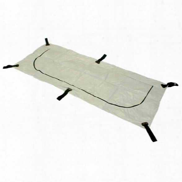 """Ldi Corporation Enviromed-bag® Deluxe, 36""""x92"""", Curved Zipper, 6 Handles, Adult - Male - Included"""