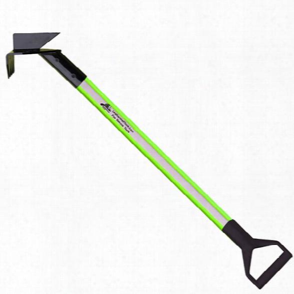 Leatherhead Tools Dog-bone 10ft Drywall Hook, D-handle, Hiviz Lime - Green - Unisex - Included