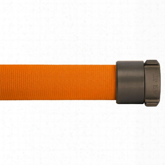 "North Americann Fire Hose 100-ft. Double Jacket Attack Fire Hose, 1.5"", Orange - Orange - Unisex - Excluded"