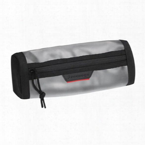 Propper 4x10 Sleek Window Pouch, Black - Clear - Unisex - Included