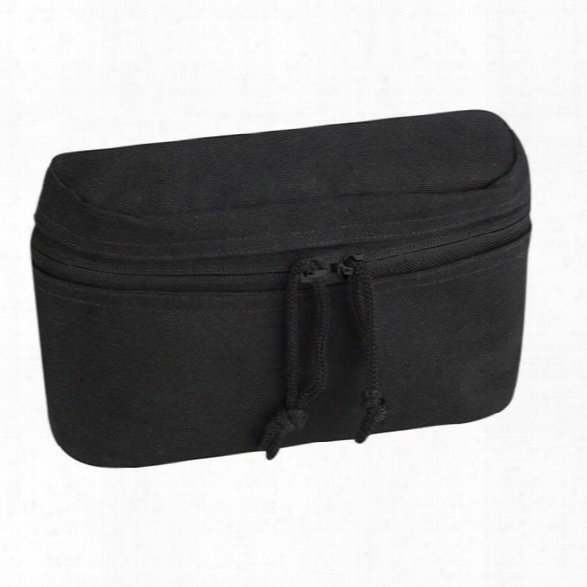 Propper 4x7 Reversible Pouch, Black - Black - Unisex - Included