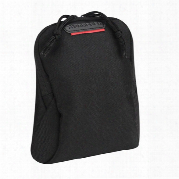 Propper 7x6 Media Pouch, Black - Black - Unisex - Included