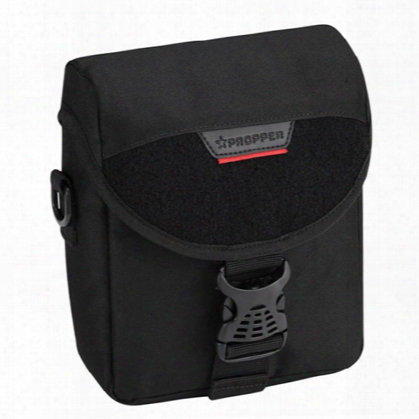 Propper 8x7 Binocular Pouch, Black - Black - Male - Included