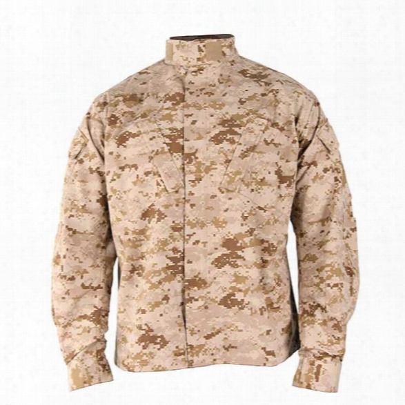Propper Acu P/c R/s Coat, Desert Digital Camo, 2x Long - Tan - Male - Included