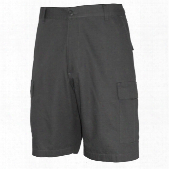 Propper Bdu Battle Rip Shorts, Black, 2xl - Black - Male - Included