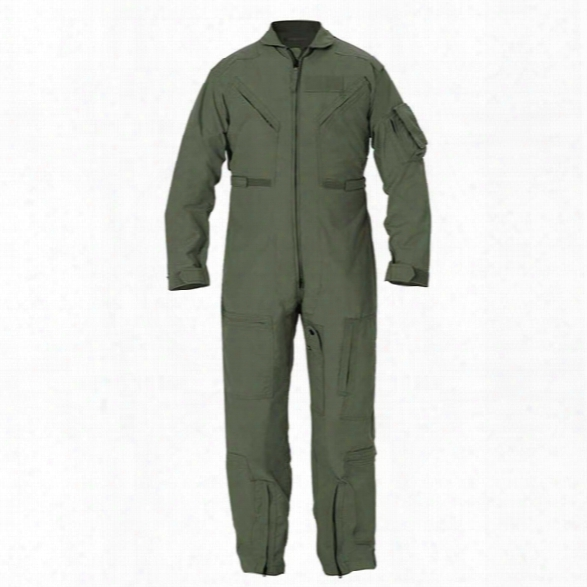 Propper Cwu 27/p Nomex Flight Suit, 34 Long - Green - Male - Included