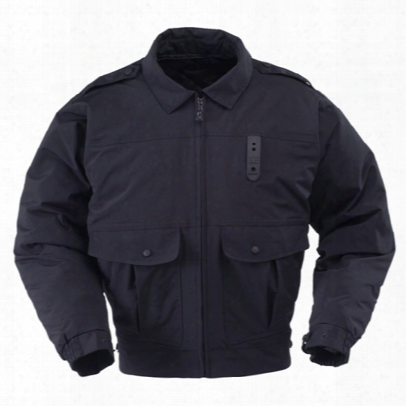 Propper Defender Alpha Classic Duty Jacket, Black, 2xl Long - Yellow - Male - Included