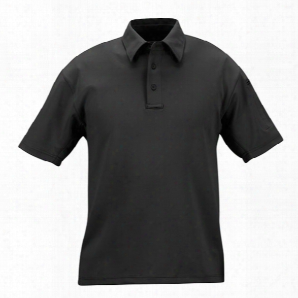 Propper I.c.e. Performance Short Sleeve Polo, Charcoal, 2x-large - Gray - Male - Included