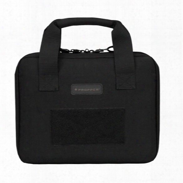 Propper Padded 8 X 12 Soft-sided Pistol Case, Black, One Size - Black - Male - Included