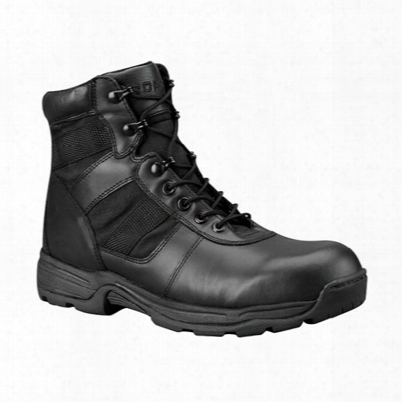 "Propper Series 100 "" Side-zip Boot, Black, 10.5 Medium - Black - Unisex - Included"