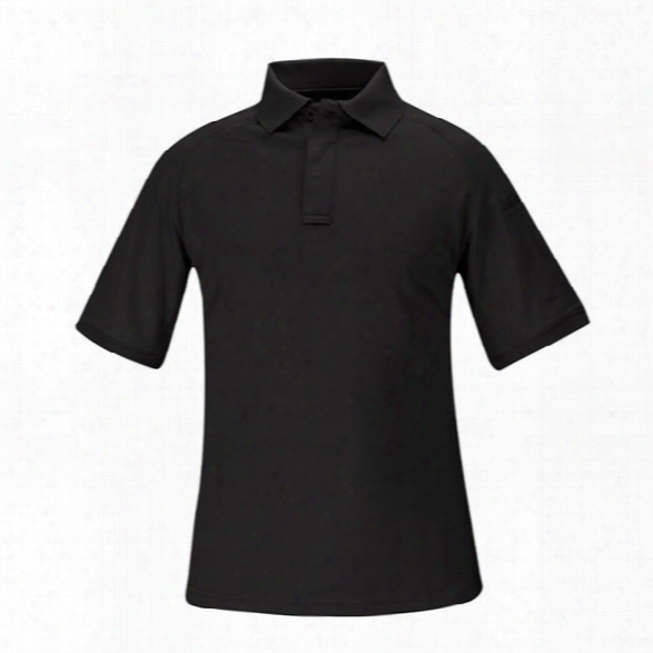 Propper Snag-free Short Sleeve Polo, Black, 2x-large - Black - Male - Included