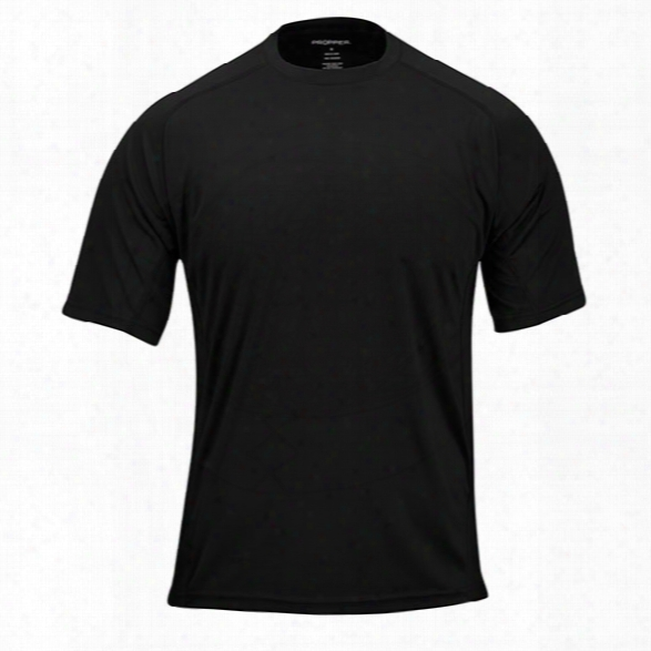 Propper System Tee, Black, 2xl - Black - Male - Included