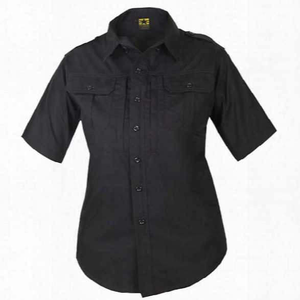 Propper Women's Tactical Ltwt Ss Shirt, Black, Lg - Black - Female - Included