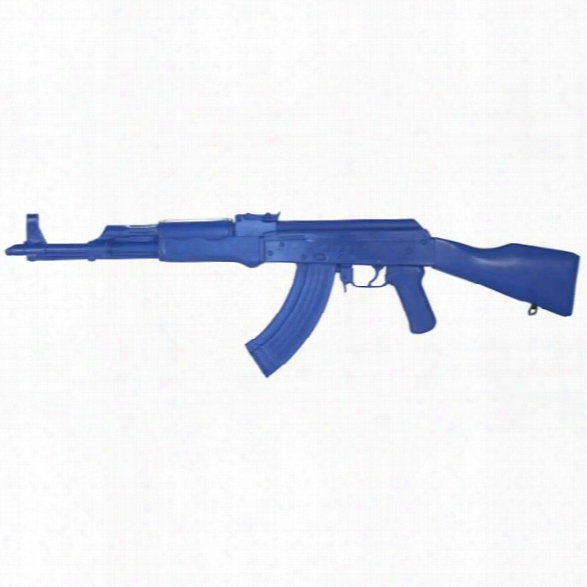 Rings Manufacturing Blue Gun, Ak47 Training Weapon - Blue - Male - Included