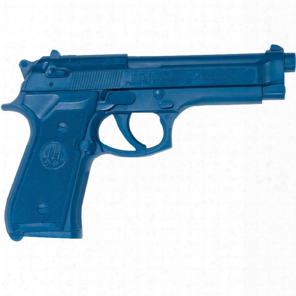 Rings Manufacturing Blue Gun, Beretta 92f - Livid - Male - Included