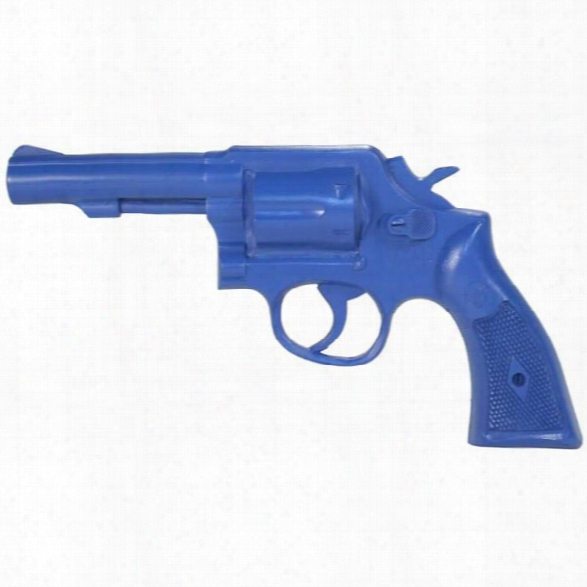 Rings Manufacturing Blue Gun, S&w K Frame Training Weapon - Blue - Male - Included